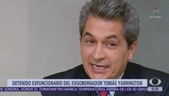 Detienen a exfuncionario de Tamaulipas por peculado