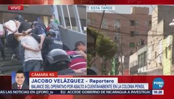 Detienen Sospechosos Atracar Cuentahabientes CDMX Pensil