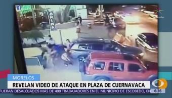 Difunden video de balacera en Plaza Marina
