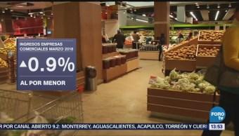 Disminuyen Ingresos Empresas Comerciales Mayor Inegi