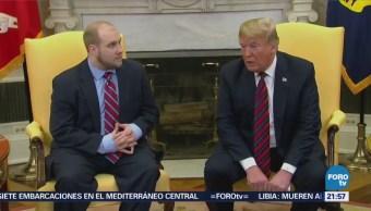 Donald Trump Recibe Estadounidense Liberado Venezuela