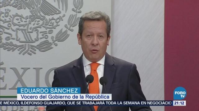 Eduardo Sánchez rechaza violencia electoral