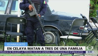 Ejecutan a familia dentro de su propia casa en Celaya