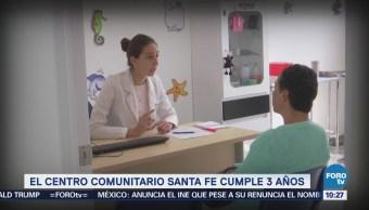El Centro Comunitario Santa Fe cumple 3 años