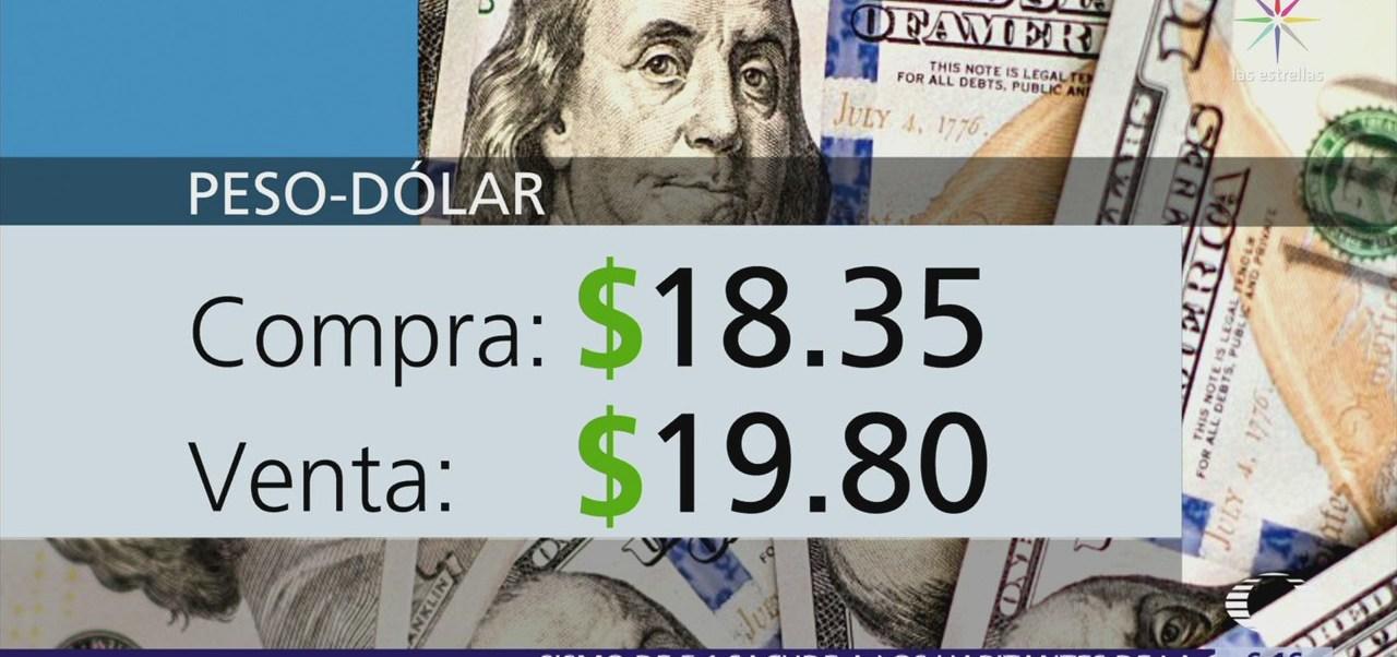 El dólar se vende en $19.80