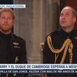 El príncipe Enrique espera a Meghan Markle en el altar