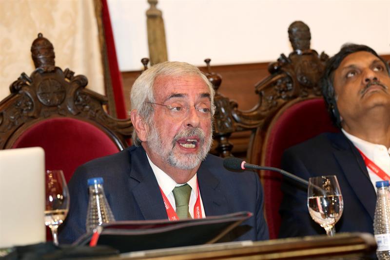 El rector de la UNAM, Enrique Luis Graue