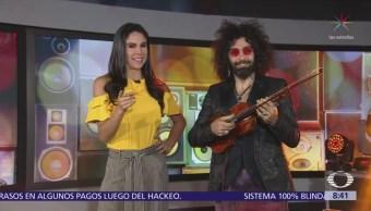 El violinista Ara Malikian ofrece musical en Al Aire