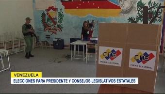 Elecciones Presidente Consejos Legislativos Estatales Venezuela