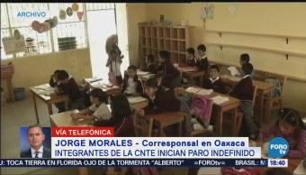 Oaxaca 91% Escuelas Trabajan Normalmente