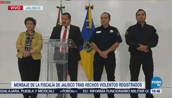 Enfrentamiento Cárteles Deja Jalisco Entre Violencia