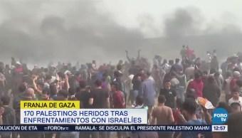 Enfrentamientos en la Franja de Gaza dejan