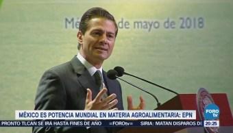EPN asegura que México es potencia mundial