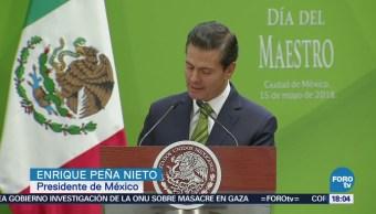EPN Destaca Logros Reforma Educativa