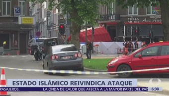Estado Islámico reivindica ataque en Lieja, Bélgica