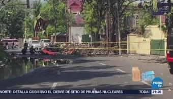 Estado Islámico Adjudica Atentado Suicida Tres Iglesias Indonesia