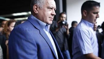 Estados Unidos impone sanciones narcotráfico dirigente venezolano Diosdado Cabello