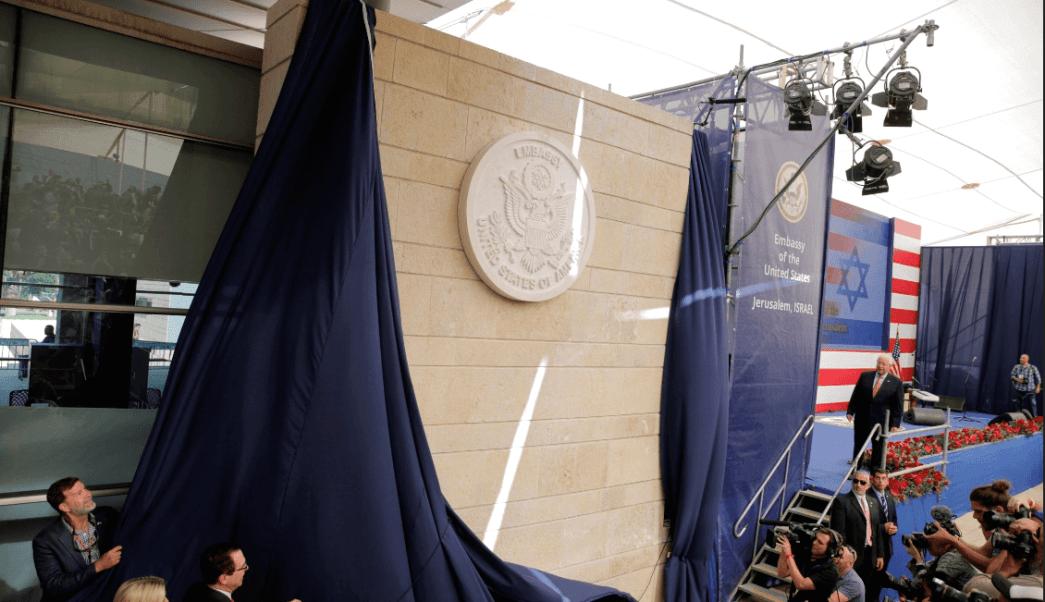 Estados Unidos inauguró su embajada en Jerusalén. (AP)
