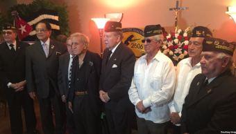 Exilio cubano despide a Posada Carriles en Miami