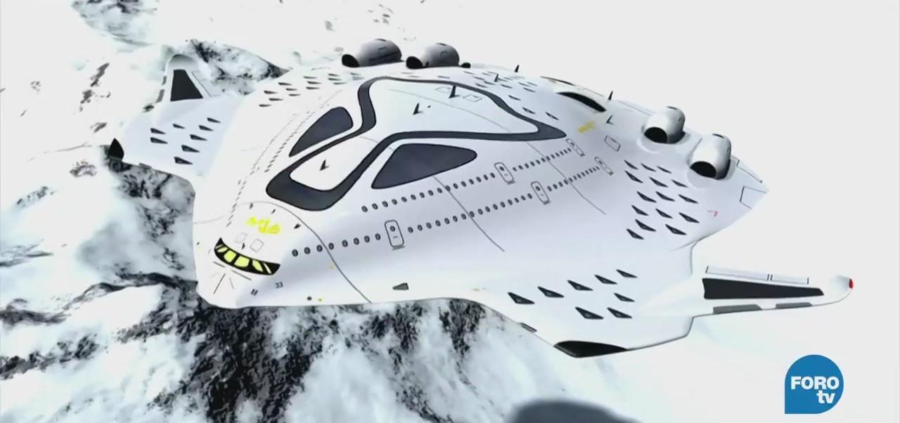 Extra Extra: Crean prototipo de aeronave supersónica