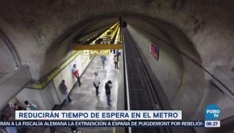 Extra Extra: Reducirán tiempo de espera en el metro