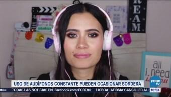 Extra Extra: Uso excesivo de audífonos pueden causar sordera