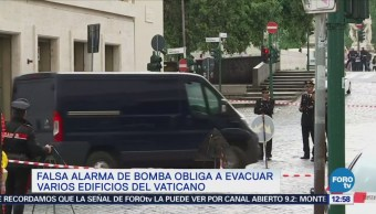 Falsa amenaza de bomba en el Vaticano provoca movilización