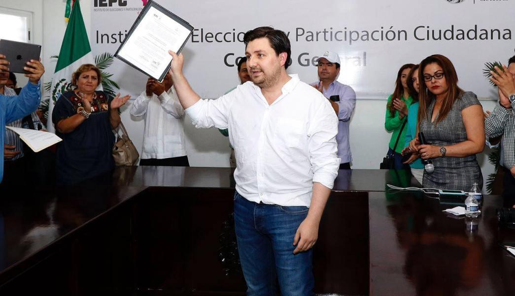 Otorgan registro a Cal y Mayor para gobernador de Chiapas