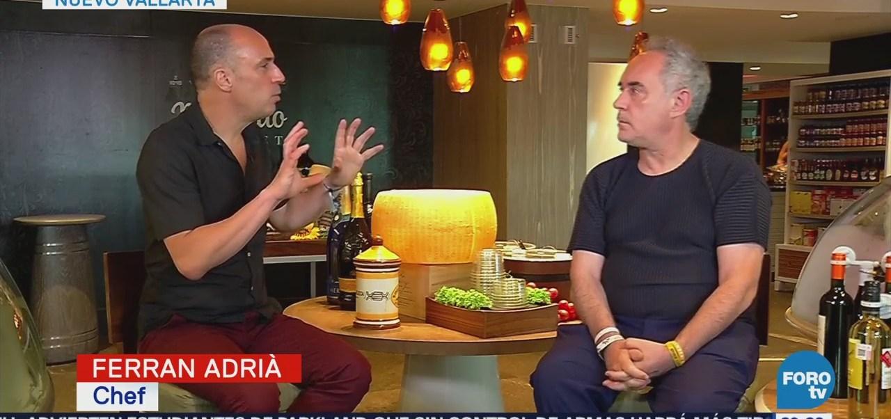 Ferran Adrià Habla Foro Vidanta Educación Gastronómica