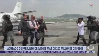 Fiscalía de Veracruz acusa a Javier Duarte por desvío de 200 mdp