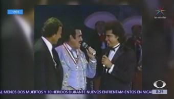 Flashback: Famosos interpretan 'Volver Volver' en Festival Acapulco 1991