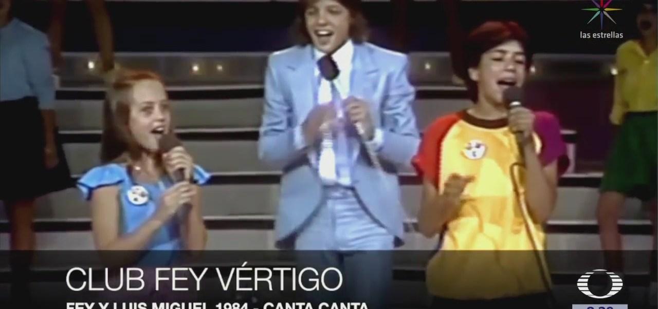 Flashback: Luis Miguel canta con Fey en XETU