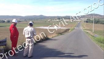 Controlan fuga de gas butano luego de cuatro horas en Acajete