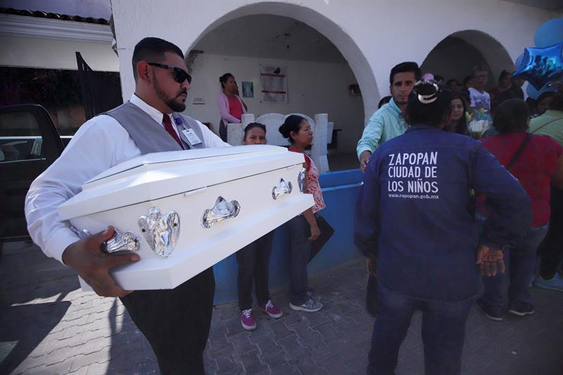 Delincuencia convierte el bautizo de Tadeo en su funeral
