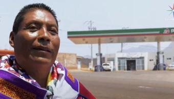 indigenas huicholes instalan gasolinera comunitaria santiago pochotitan nayarit