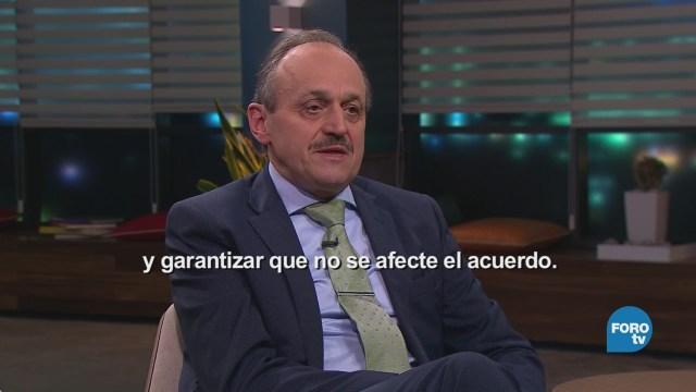 Genaro Lozano entrevista a Klaus Rudischhauser