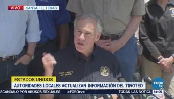 Gobernador Texas Ofrece Apoyo Tras Tiroteo Escuela