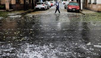 Activan alerta amarilla por lluvia y granizo en 10 delegaciones de la CDMX