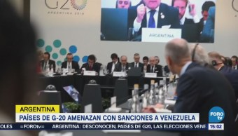 Grupo Lima Reconoce Resultados Elección Venezuela