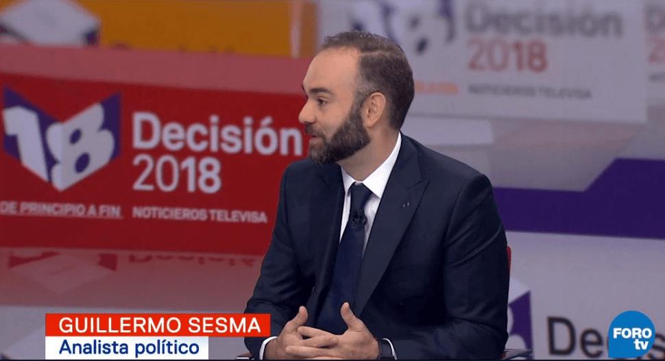Guillermo Sesma, analista político. (FOROtv)