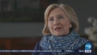 Hillary Clinton expresa preocupación sobre administración de la Casa Blanca