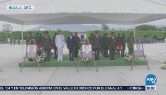 Homenaje Militares Caídos Coyuca Catalán Guerrero