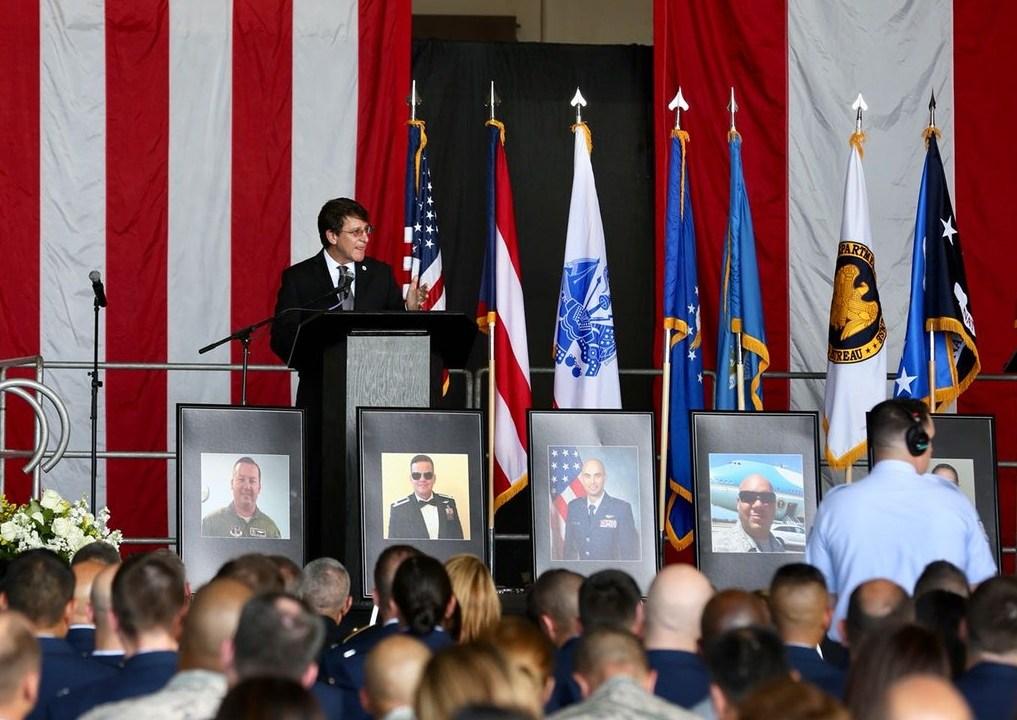 Homenaje militares Guardia Nacional muertos accidente aéreo