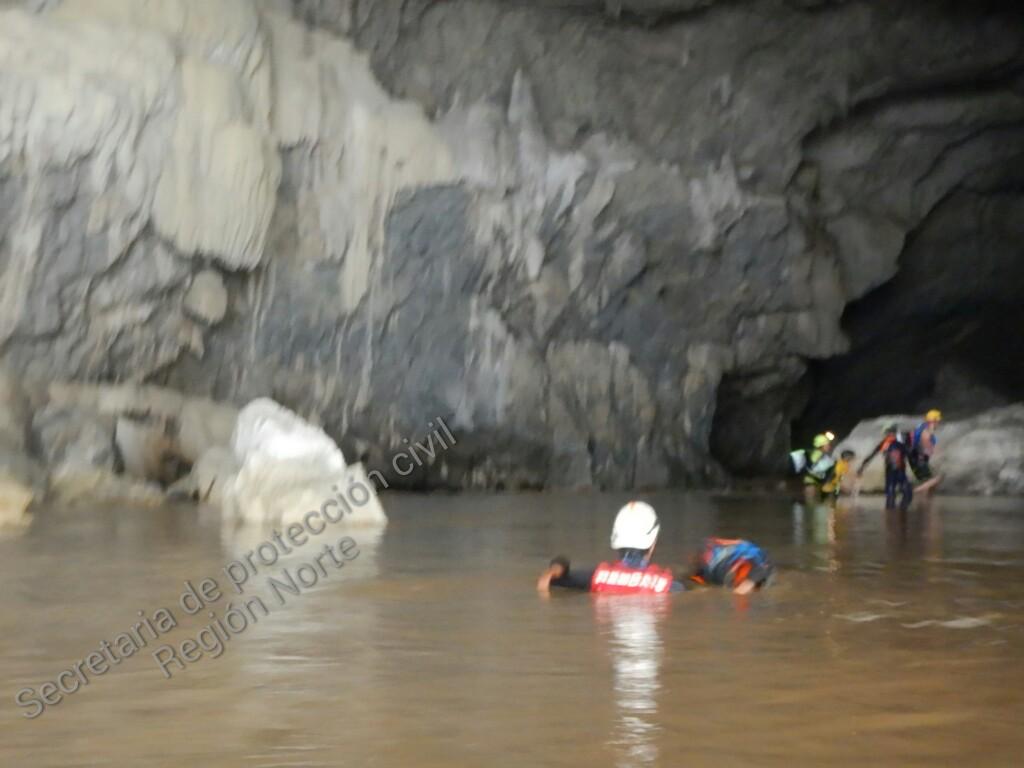 Localizan cuerpos de jóvenes desaparecidas en las grutas de Cacahuamilpa