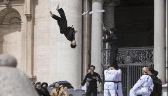 Atletas de Corea del Norte no participaron en exhibición ante papa