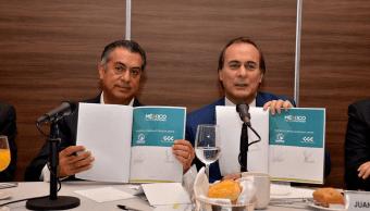 Jaime Rodríguez El Bronco se reúne con empresarios Consejo Coordinador Empresarial