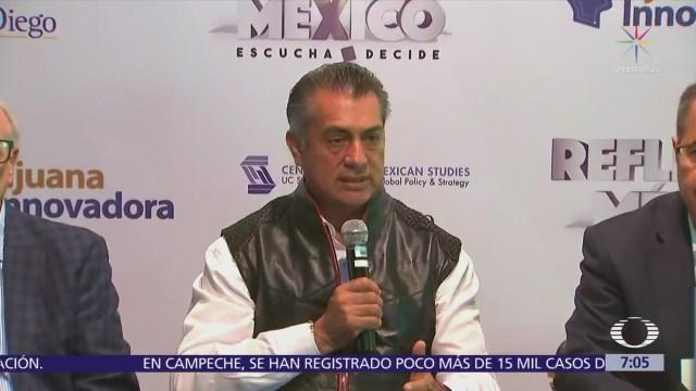 Jaime Rodríguez aclara que nunca dijo que quiere expropiar a Banamex