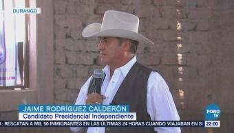 Jaime Rodríguez Calderón Realiza Cabalgata Durango