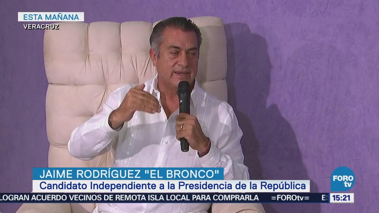 Jaime Rodríguez ofrece apoyo a empresarios