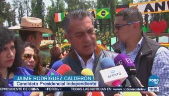 Jaime Rodríguez Rechaza Declinación Candidato